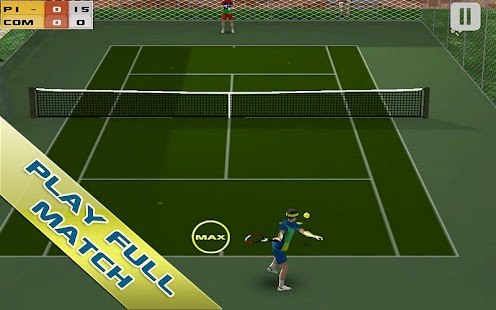 Cross Court Tennis Free - screenshot thumbnail