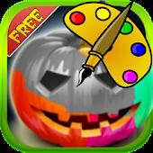 Coloring: Halloween Pumpkin
