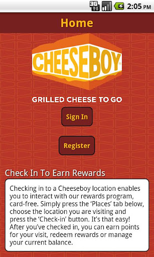 Cheeseboy Rewards