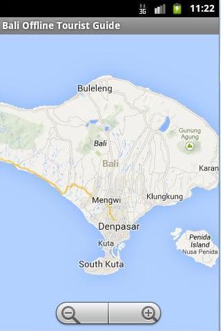 Bali Offline Tourist Maps Lite