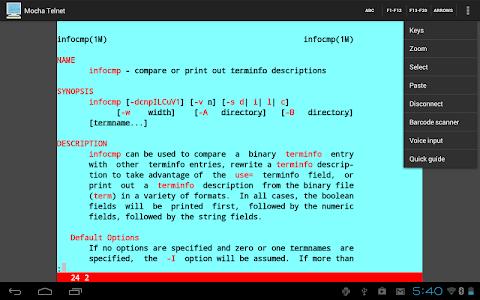 Mocha Telnet v2.1