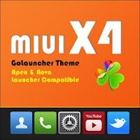 MIUI X4 Go/Apex/ADW Theme FREE 1.9.0