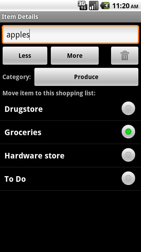 OurGroceries Key screenshot #4