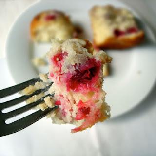 Cranberry-Walnut Muffins.