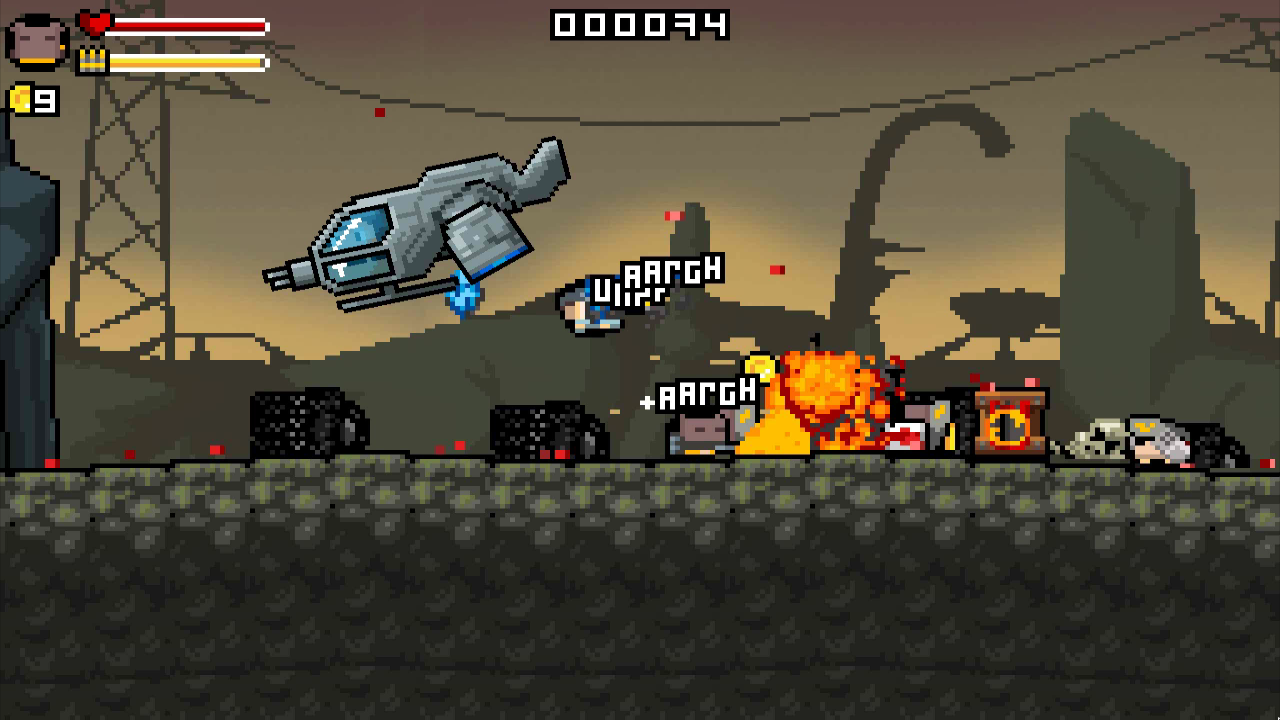 Gunslugs 2- screenshot