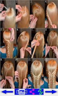 step by step- Hairstyles- screenshot thumbnail