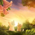 小貓日落即時壁紙 icon