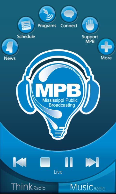 MPB Public Radio App- screenshot