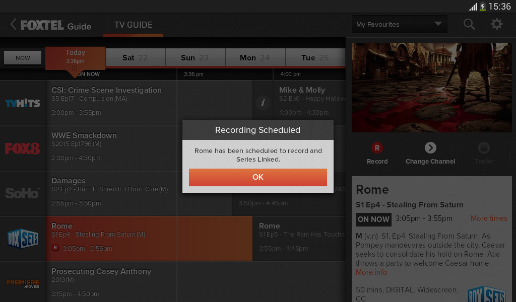how to use foxtel iq remote