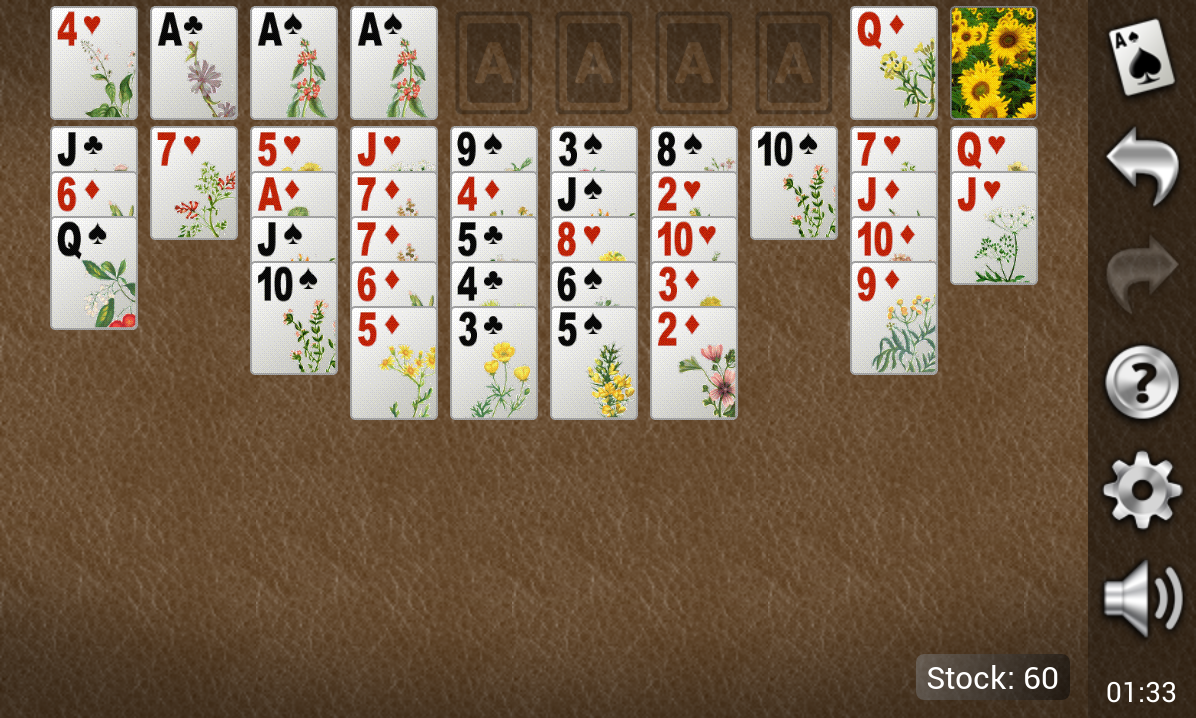 Yukon Gold Solitaire- screenshot