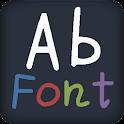 Pure style FlipFont® Free logo