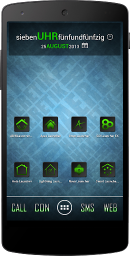 Apex Nova Semiotik Green Icons