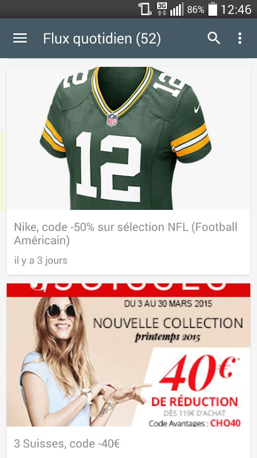 Max de bons plans+codes promos - screenshot