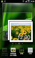 Screenshot of Photo Clock Widget