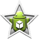 HD Icons: White Stars icon