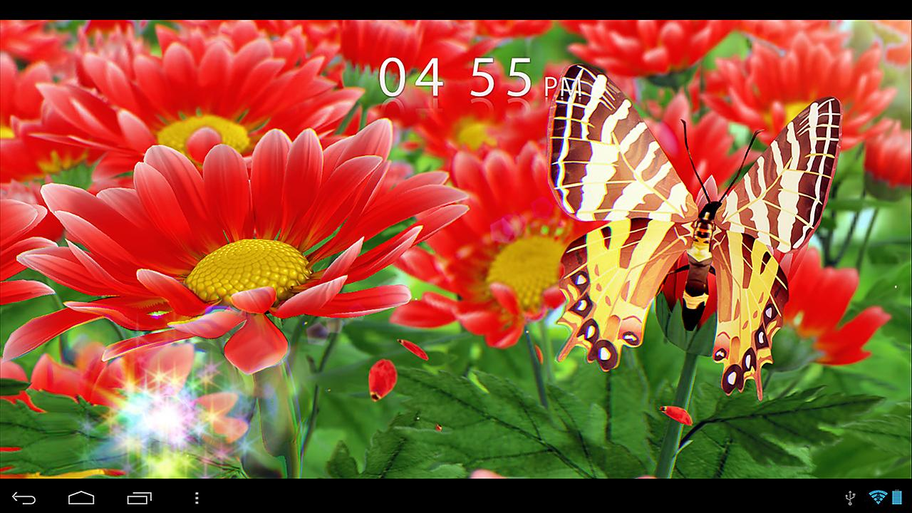 my flower 3d live wallpaper android apps on google play