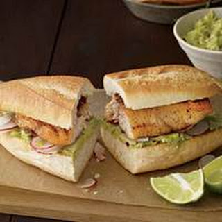 Mexican Red Snapper Sandwiches.