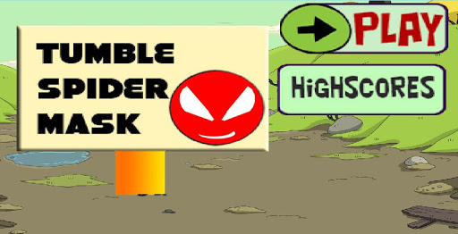 Tumble Spider Mask Game