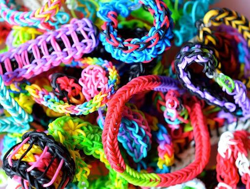 Rainbow Bloom Bracklet Designs