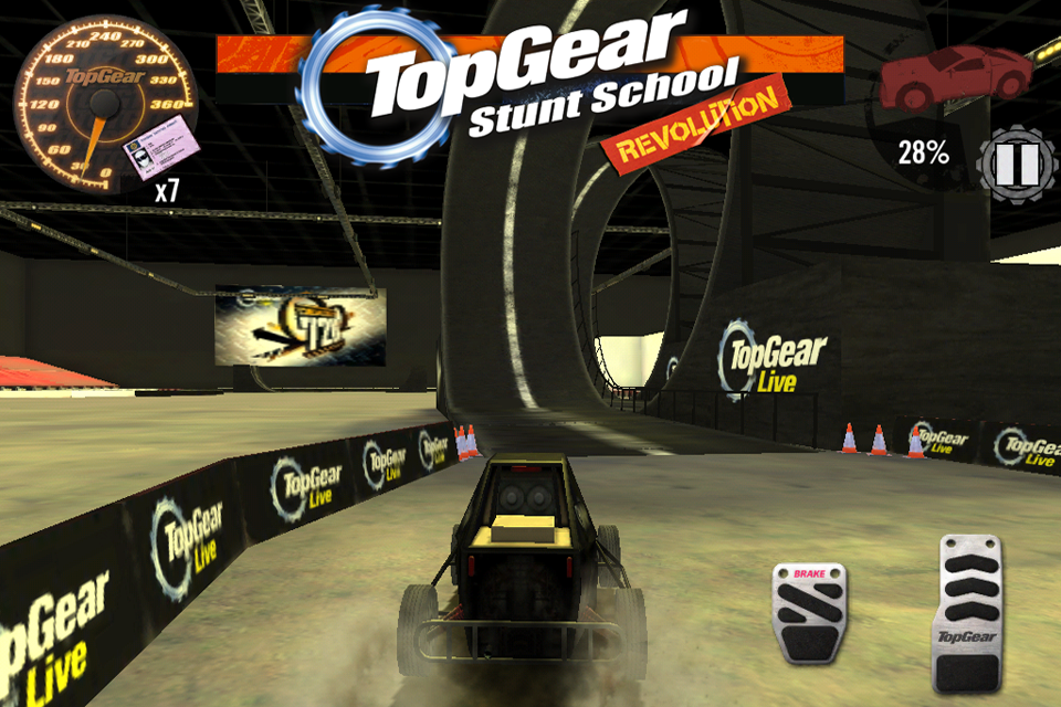 Top Gear: Stunt School SSR screenshot #9