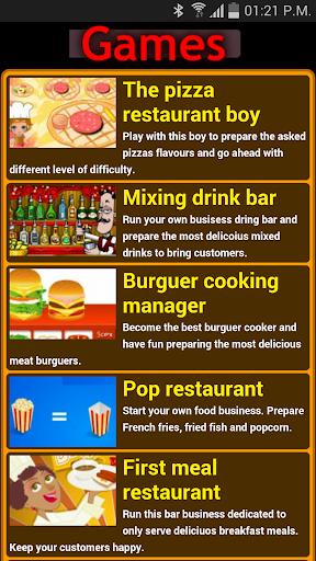 Restaurant management games
