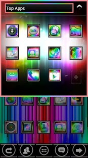 Rainbow ICS GO Launcher EX PRO - screenshot thumbnail