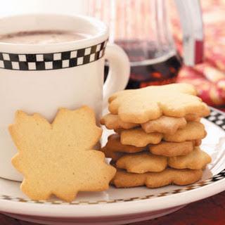 Maple Sugar Cookies.