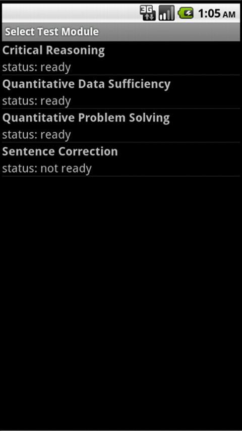 TuneSkill GMAT®- screenshot