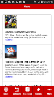 Nebraska Football- screenshot thumbnail