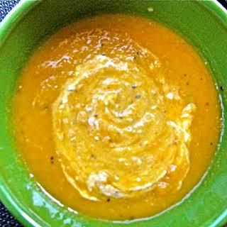 Carrot Ginger Pumpkin Soup.
