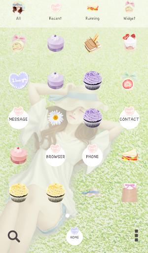 【免費個人化App】러블리걸(피크닉) 도돌런처 테마-APP點子