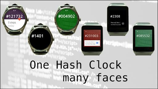 Hash Clock Watch Face