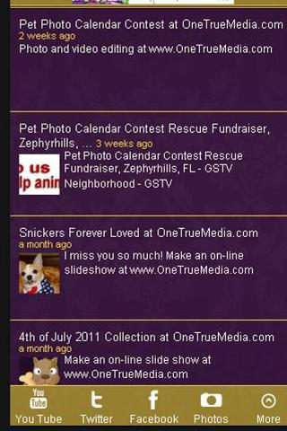 Pampered Paw Gifts.com - screenshot