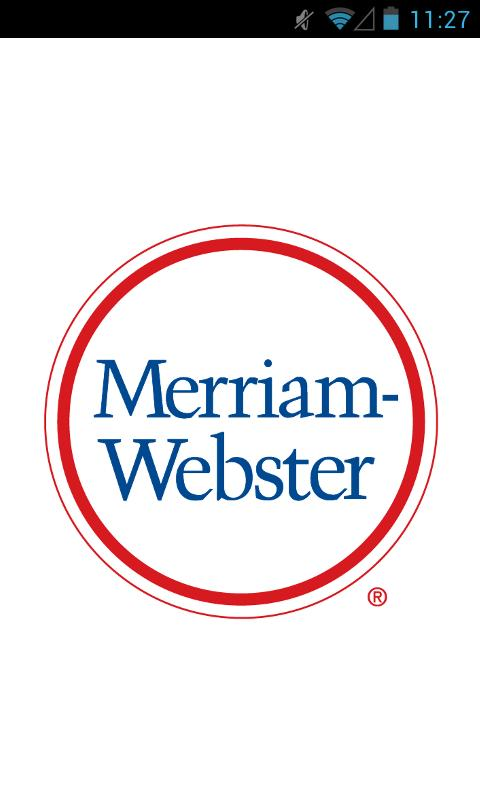 Merriam-Webster's Pocket - screenshot