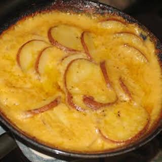 Baked Scalloped Potatoes.