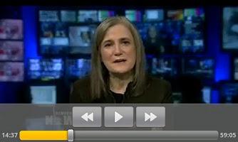 Screenshot of Democracy Now!