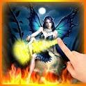 Skull Fairy Flames LWP logo