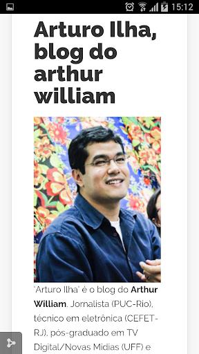 Arturo Ilha arthur william