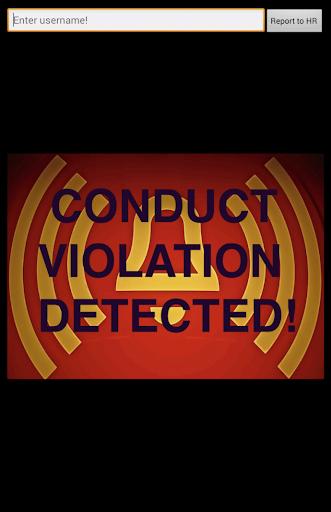 Business Conduct Alert
