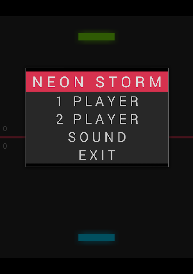 Neon Storm- screenshot