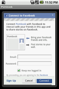 Pombook - screenshot thumbnail