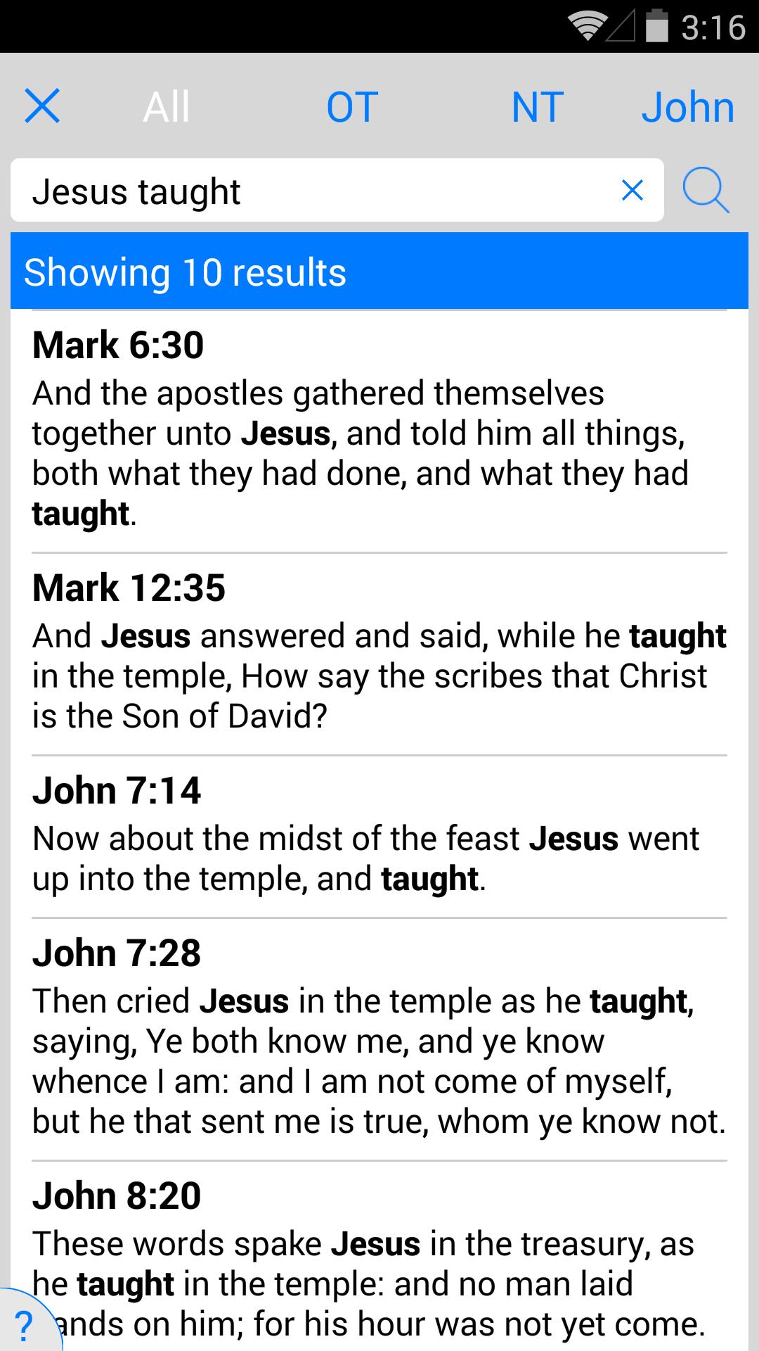 NLT Bible screenshot #8