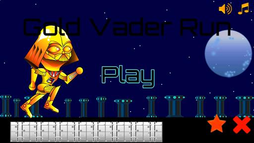Gold Vader Run Games Free