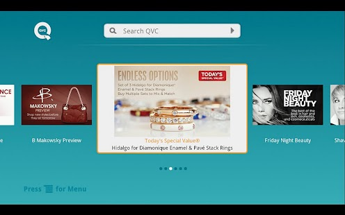 QVC for GoogleTV (US) - screenshot thumbnail