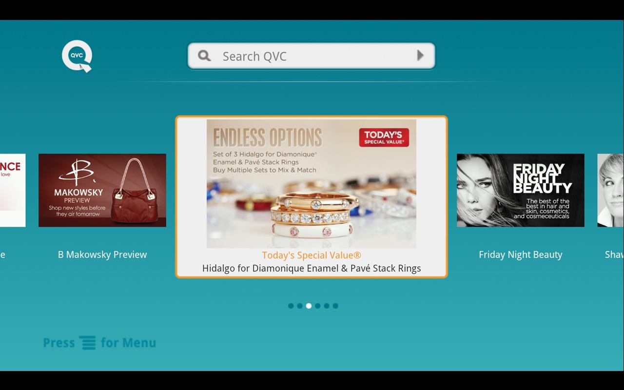 QVC for GoogleTV (US) - screenshot