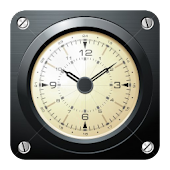 AVIATOR - retro clock widget