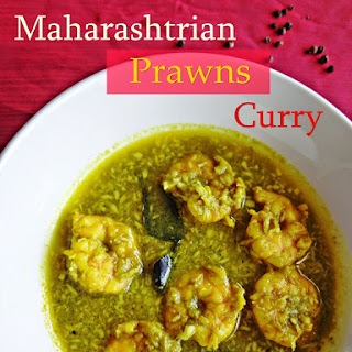 Maharashtrian Prawns Curry.