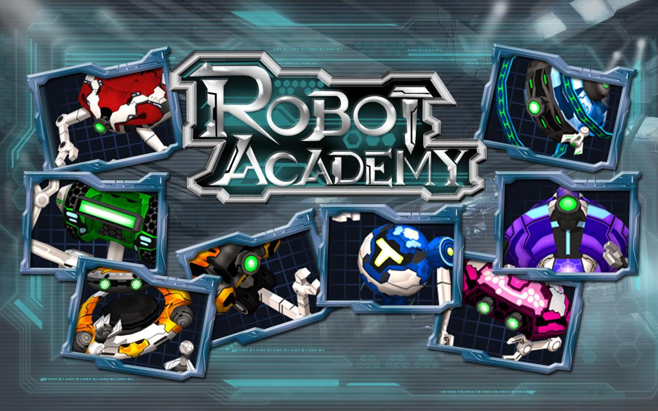 Robot Academy - screenshot