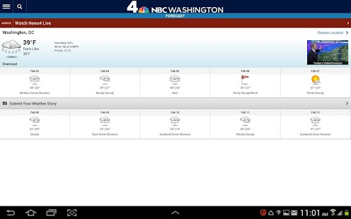 NBC Washington - screenshot thumbnail