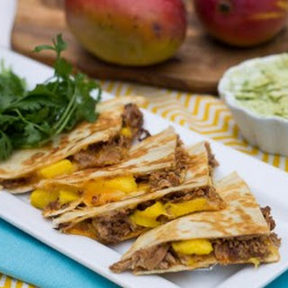 BBQ Pork and Mango Quesadillas